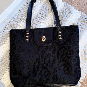 Eric Javits Black Shoulder Bag 👜